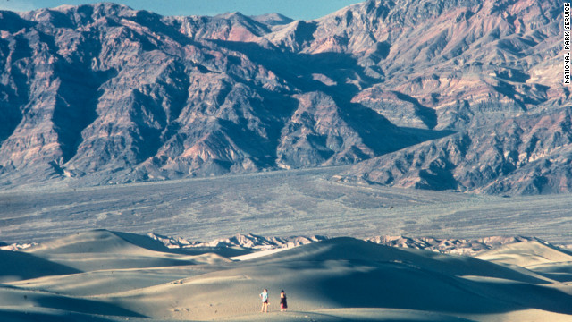 Death Valley officially hottest place on Earth