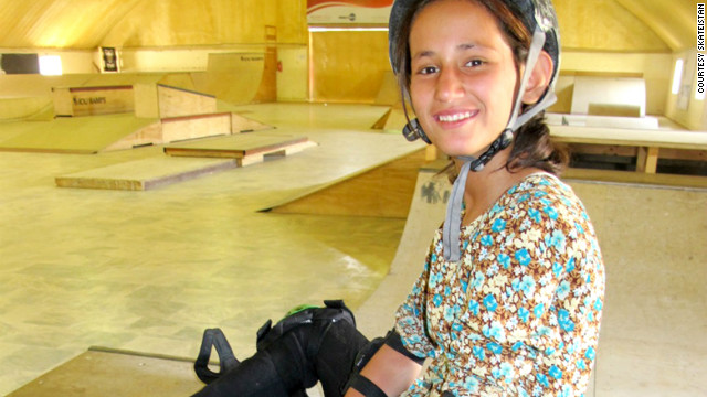 Khorshid Hawa, 14, and her sister Parwana, 10, were among four children killed when a teenage suicide bomber blew himself up outside ISAF Headquarters in Kabul, Afghanistan on September 8, 2012. Photo courtesy of <a href='' target='_blank'>Skateistan</a>.
