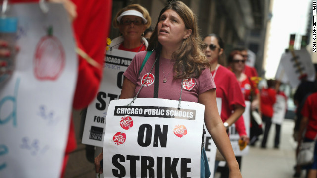 My View: Weve got your backs, Chicago teachers