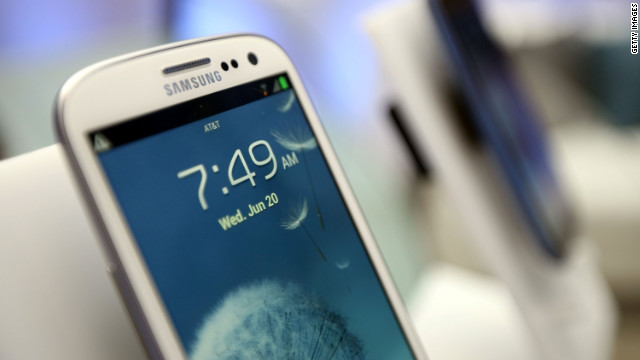 The Samsung Galaxy S III was launched in the United States in June and, to date, has reportedly sold more than 20 million units.