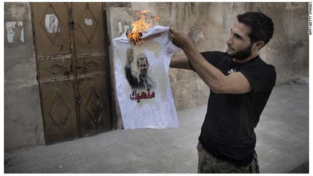 """Rebeldes sirios ofrecen 25 millones de dólares por al Asad """"vivo o muerto"""""""