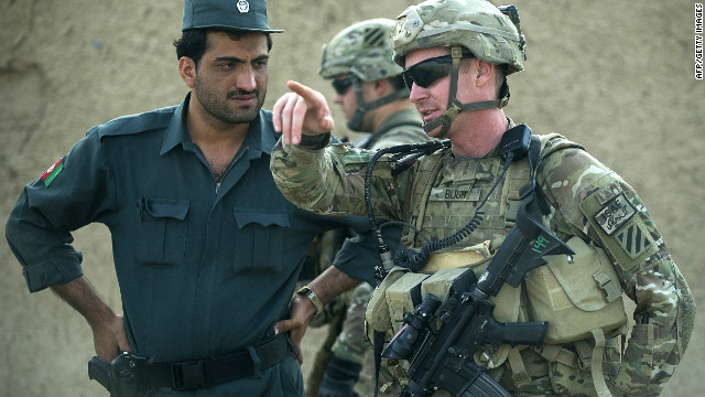 But NATO plans to fully hand over operations to Afghan forces by 2014 have been slowed by a recent spate of &quot;green-on-blue&quot; attacks -- deadly insider attacks by Afghan security forces on NATO troops.