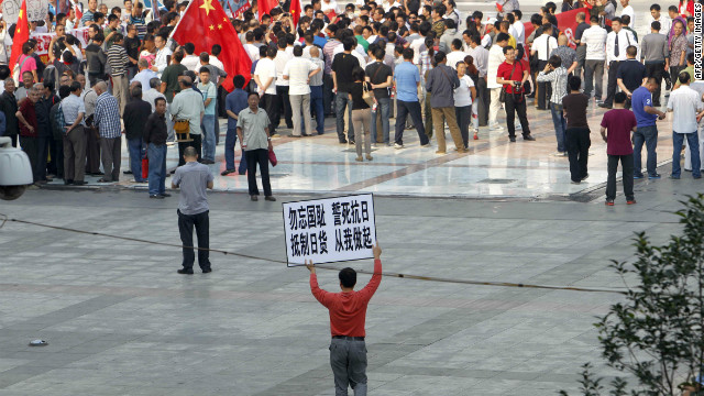 Anti-Japan protests sweep China