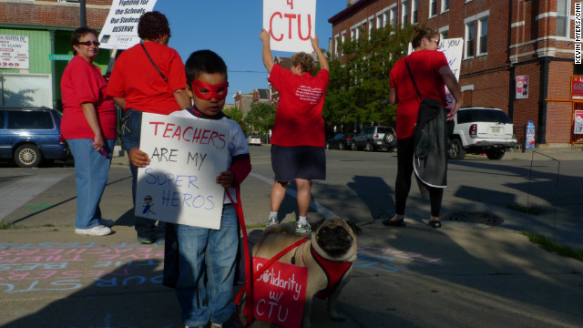My View: The Chicago teachers strike from an ambivalent union members perspective