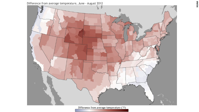 2012 hottest year on record, federal agency says