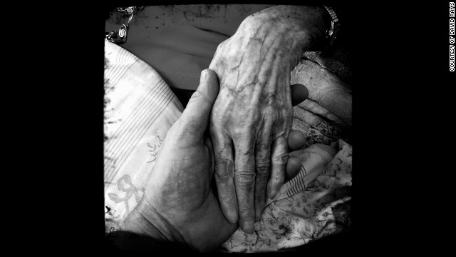 &quot;Grandma's Hand,&quot; David Rams. Rams took this photo of his grandmother's hand when she was on her deathbed.