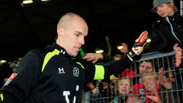 In 2009, Robert Enke was first-choice goalkeeper for the German national football team, enjoying a successful club spell with Hannover. But in November of that year, he took his own life by stepping in front of train. The 32-year-old had been battling depression for the majority of his career and the story of his struggle is told movingly in Ronald Reng's acclaimed biography &quot;A life too short: The tragedy of Robert Enke&quot;.