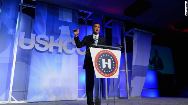 Romney makes case to Latinos, vows 'reasonable solution' on immigration