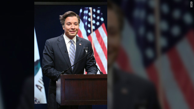 Jimmy Fallon takes on Romney's '47 percent'