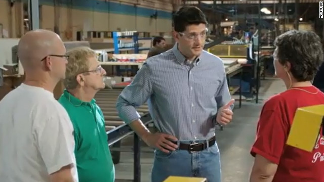 Ryan for Congress ad: Safety goggles for safety campaign