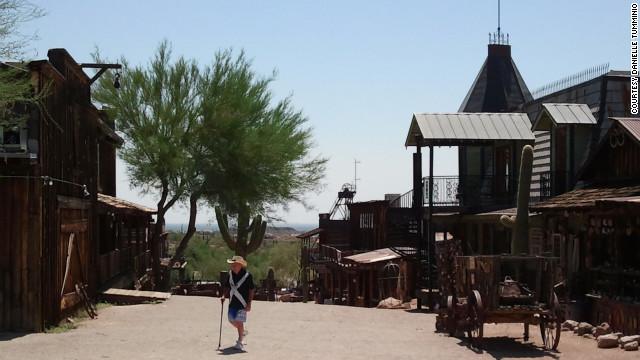 "Tourists can take a tour of the old mine, sift for gold, dine at the Saloon or amble down Main Street to LuLu's ""family friendly"" Bordello Museum."