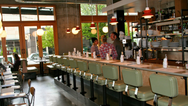 The Skillet Diner is a restaurant-sized extension of Skillet Street Food's Josh Henderson's pork-belly-and-eggs flavors.