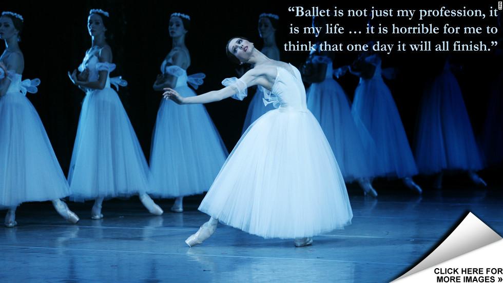 Bolshoi Prima Ballerinas Grace Under Pressure