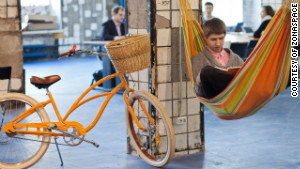 The rise of co-working spaces 