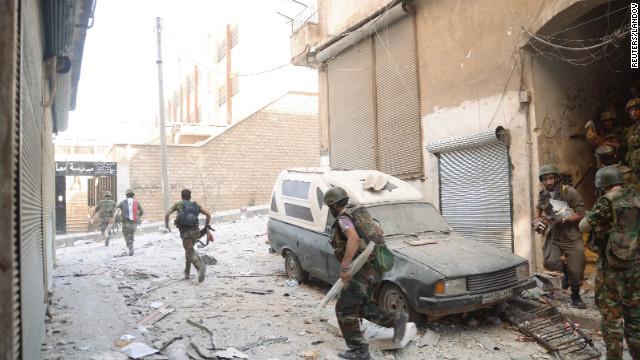 Un bombardeo del régimen causa decenas de víctimas en Siria