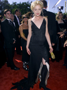 """Ally McBeal"" actress Portia de Rossi has stepped up her style since the Emmys in 1999."