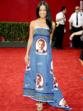Victoria Rowell should have just worn a copy of her 2008 ballot to the Emmys in 2009.