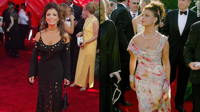 We love Paula Abdul so much that we put her on our worst-dressed list twice. The former &quot;American Idol&quot; and &quot;X Factor&quot; judge wore a black dress in 2002 and a more feminine number in 2006. Ironically, perforated, laser-cut detail is really hot right now.