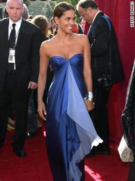 Halle Berry has had her fair share of red carpet flops, but she nailed it in 2005 with this Ungaro gown.