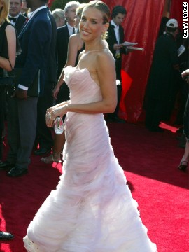 The always fashionable Sarah Jessica Parker turned heads in Chanel in 2003.