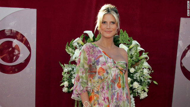 Heidi Klum hadn't quite mastered maternity chic by the Emmys in 2005. However, she did redeem herself in <a href='http://www.zimbio.com/pictures/OwJtRoEQzG0/58th+Annual+Primetime+Emmy+Awards+Arrivals/1M2BlwFMLKE/Heidi+Klum' target='_blank'>2006</a> and then again in <a href='http://www.justjared.com/2009/09/20/heidi-klum-emmy-awards-2009-with-seal/' target='_blank'>2009</a>.