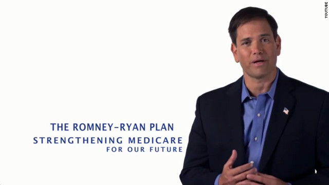 Rubio stars in new Romney Medicare ad