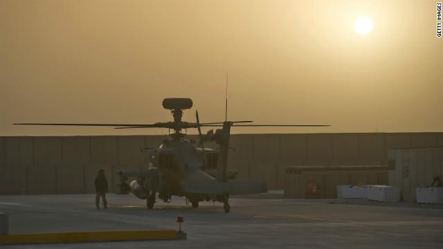 Una soldado que dio a luz en Afganistán