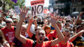 Spaniards protest austerity plans