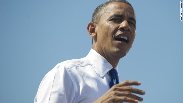 Obama flips the argument, says Romney aspires for 'inside job'