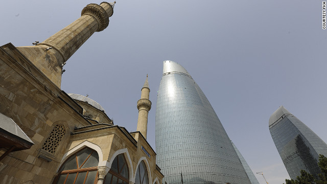 Architect Barry Hughes also wanted to protect Baku's historic architecture, while satisfying his client's brief. &quot;You go, 'I'd really like to not screw this up, because it is really beautiful,' [but] you're trying to do something new and aspirational to represent the future.&quot;