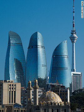 The new Flame Towers in Baku, Azerbaijan, designed by HOK International, were instantly popular, but posed several challenges to their makers.
