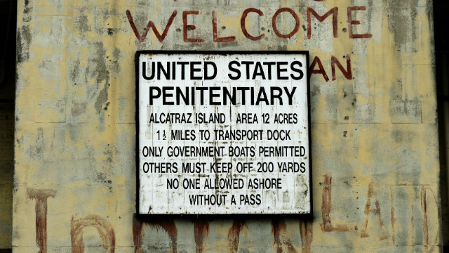 Capone was in and out of prison for much of his life and was transferred to Alcatraz after a stint in an Atlanta jail for tax evasion. He spent over four years at one of the most infamous prisons in the United States.