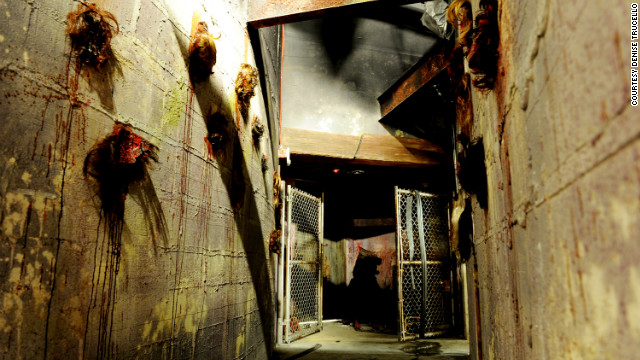 Each room of the murderous hotel known as the Goretorium has its own scares.