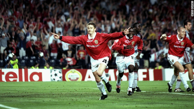Solskjaer will always be remembered by Manchester United fans for his last-minute winner against Bayern Munich in the 1999 Champions League final -- a victory that completed the Treble for the club.