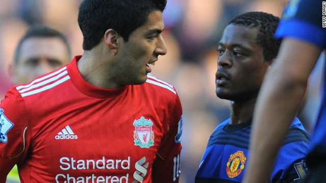 In 2011 the FA had to deal with another racism case, this time handing Liverpool striker Luis Suarez an eight-match ban and a $63,000 fine after finding the Uruguayan guilty of racially abusing Manchester United defender Patrice Evra.