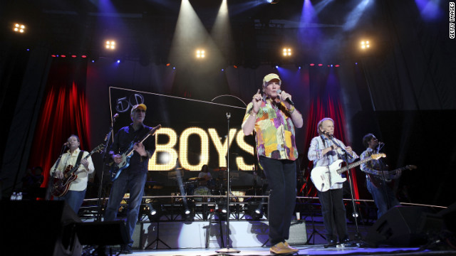 Singer Mike Love leads The Beach Boys at the Red Rock Casino, Resort and Spa in Las Vegas, May 2012.