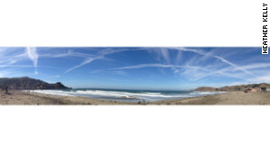 The new iPhone 5 lets users take panorama images. 