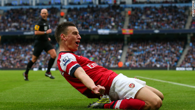 Arsenal's Laurent Koscielny grabbed an 82nd minute equalizer as Arsenal continued their unbeaten start to the season.