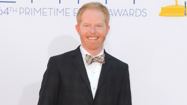 Jesse Tyler Ferguson's special bow-tie for Emmys
