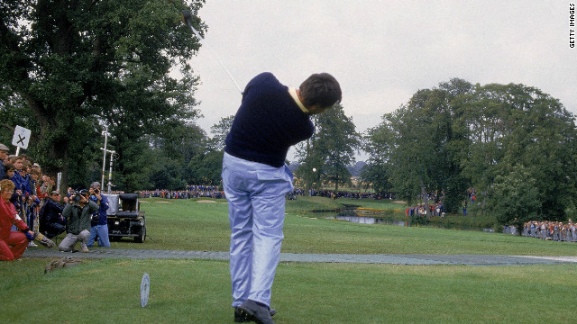 Ballesteros famously drove the par-four 10th at The Belfry in 1985 as he inspired the European team to their crushing victory over the U.S. 
