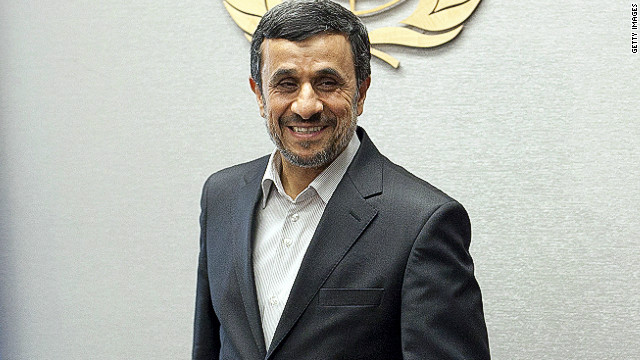 U.S. delegation will not attend Ahmadinejad's U.N speech, spokeswoman says