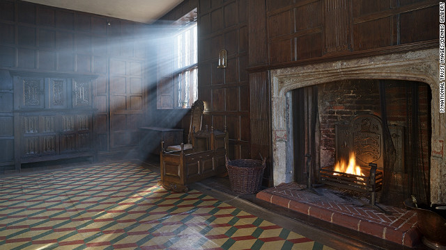 Sutton House was built in 1535, when King Henry VIII ruled over England and this part of London -- now busy with cars and tower blocks -- was set against miles of open grassland.