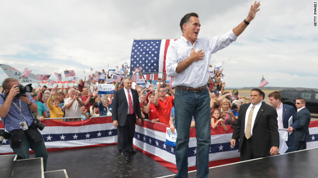 Romney hammers Obama on 'bumps in the road'