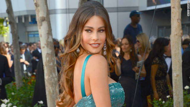Sofia Vergara hits Emmys after-party