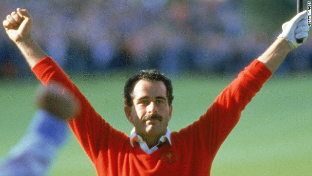 Sam Torrance holed the winning putt at The Belfry in 1985 as Europe sealed a comprehensive victory over the United States to snap their long-standing domination of the team event. The last time the U.S. had failed to retain the trophy was 1957.