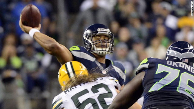 Photos: The Seahawks-Packers final play