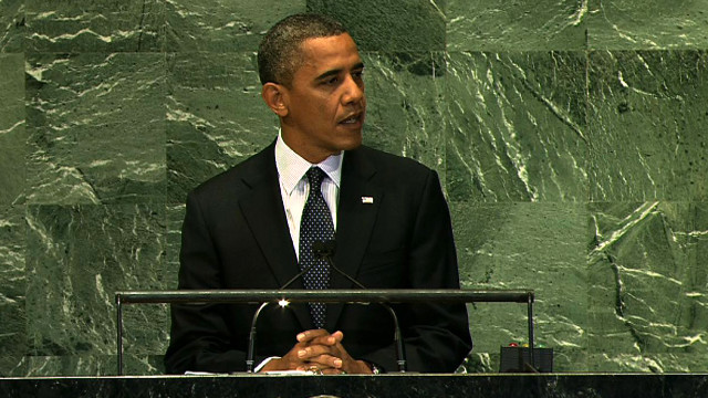President Obama's remarks at the U.N. General Assembly