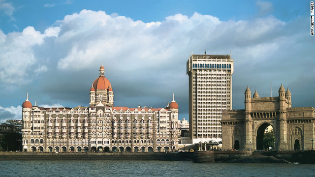 The iconic Taj Mahal Palace in Mumbai, a city with 24 billionaires, Hurun says.