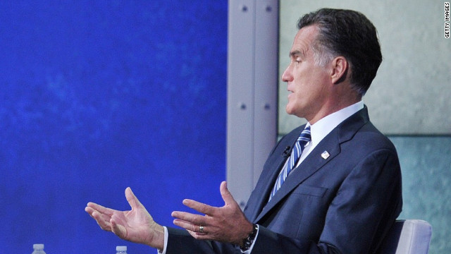Romney says he&#039;s &#039;kind of&#039; partisan