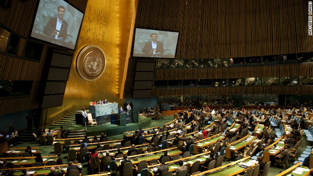 Need to Know News: Obama to address U.N. General Assembly;  Libya's army evicts unauthorized militias